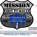 MISSION 5K Foot Pursuit